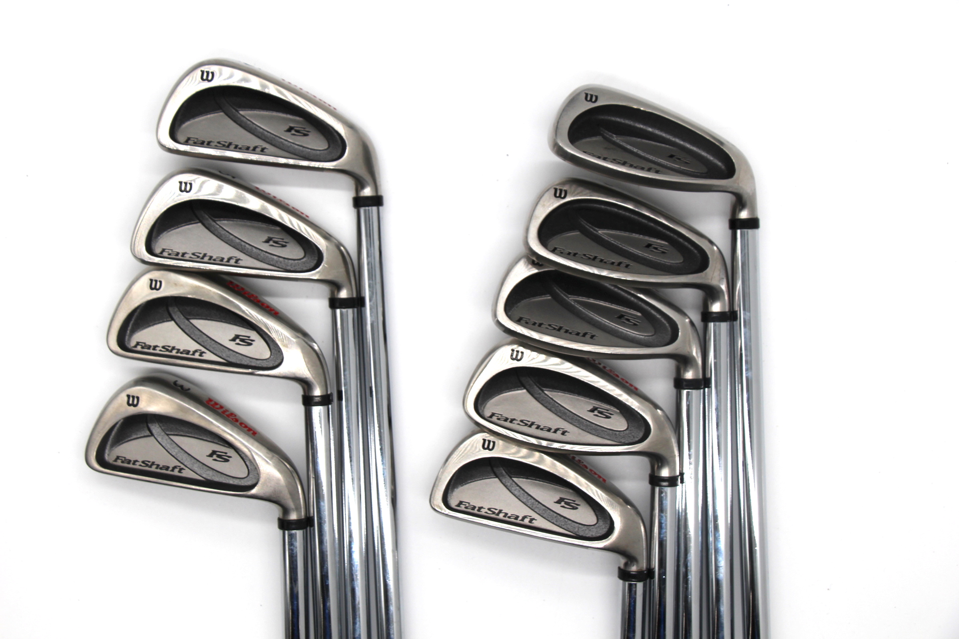 Wilson Fat Shaft 3-SW Iron Set